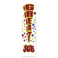 Stock Great Job Swimming Award Ribbon