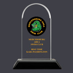 Arch Acrylic Swimming Award Trophy