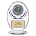 Free Standing Oval Swim Award Trophy