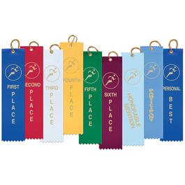 Stock Track Award Ribbon
