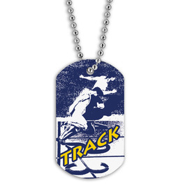 Full Color Track Dog Tags