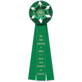 Wheaton Rosette Award Ribbon