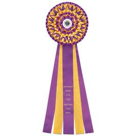 Writtle Rosette Award Ribbon